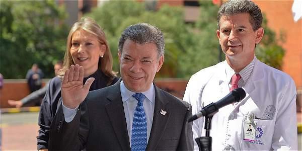 Descartan presencia de tumores o metástasis en el presidente Santos