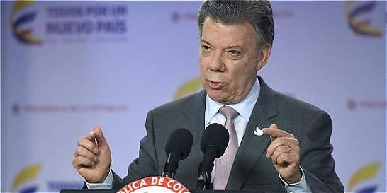 Presidente Santos anuncia medidas por asesinatos de líderes sociales