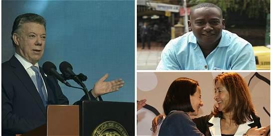 Víctimas del conflicto acompañarán a Santos para recibir Nobel de Paz