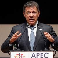 'El Eln debe liberar a todos los secuestrados': Santos