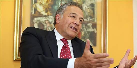 Óscar Naranjo, el vicepresidente de la seguridad