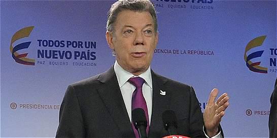 Santos le pide a Donald Trump 'mirar hacia América Latina'