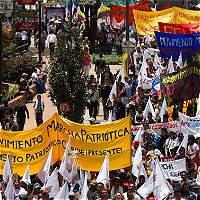 Mininterior pide garantías para miembros de Marcha Patriótica
