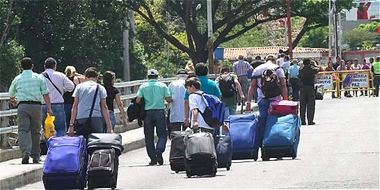 Gobierno pide claridad a Venezuela sobre supuestos desplazados