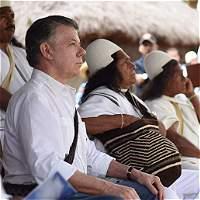 Tras acuerdo con Farc hay que buscar la paz con la naturaleza: Santos