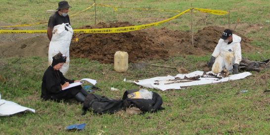 Avanza plena identificación de restos de Fidel Castaño