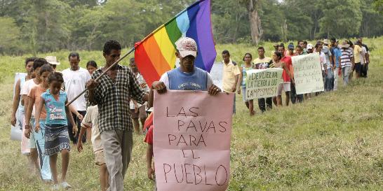 Campesinos de Las Pavas, en otra batalla por la tierra