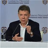 Presidente Santos reportó 70 guerrilleros fuera de combate