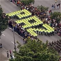 10 mil uniformados participaron en desfile del 20 de julio en Bogotá