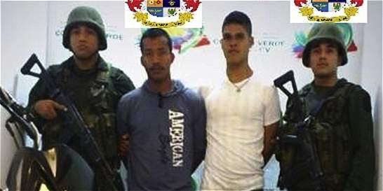 Caen dos hombres de las Farc con explosivos