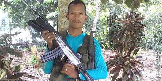 El Ejército capturó a alias 'Chamizo', un jefe guerrillero de las Farc