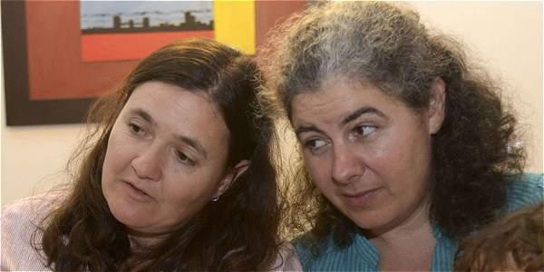 Ana Elisa Leiderman y Verónica Botero, la pareja de mujeres vivió dos años en Alemania.