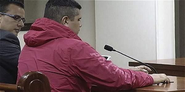 El patrullero Ignacio David Parra está en la cárcel de Facatativá.