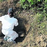 Continúa el misterio sobre presuntos restos de Fidel Castaño