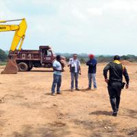 Saquearon mina de oro entregada para reparar a víctimas