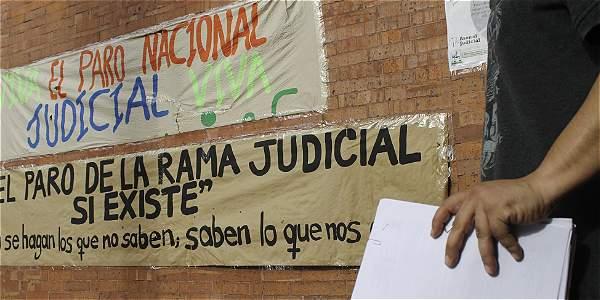 El paro judicial ya cumplió un mes, debido a desacuerdos entre Asonal y el Gobierno.