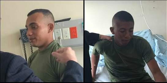 'Luché hasta que se me acabó la munición': soldado liberado en Arauca