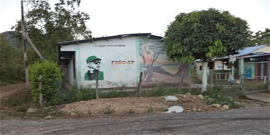 Las Farc dejaron dos cilindros bomba cerca de un colegio en Caquetá