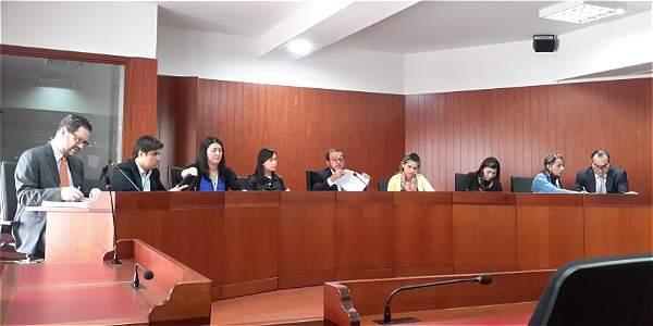 Vargas y Pretelt se encuentran en sesión de selección de tutelas