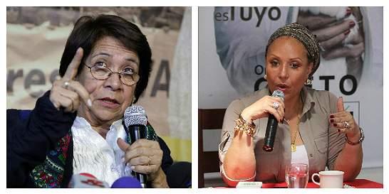 Un escolta y una peluquera amenazaban a Aída Avella y Piedad Córdoba