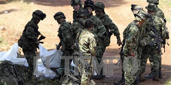 11 militares muertos en ataque de las Farc