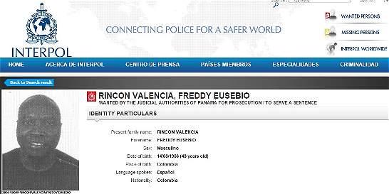 Nueva orden de captura de Interpol contra exfutbolista Freddy Rincón