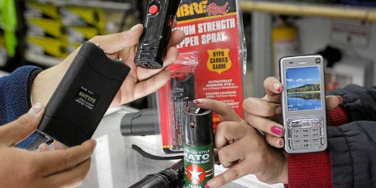 ¿Compraría un arma no letal para defenderse de los delincuentes?