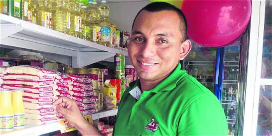 La tienda que vende leche, huevos y una pizca de reconciliación