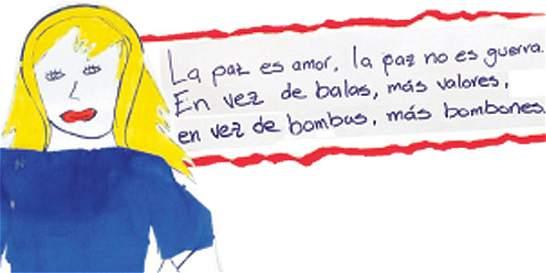 Frases Infantiles Sobre El Valor De La Justicia En El Mundo: Proceso De Paz: Cartas De 100 Niños De Colombia A Las