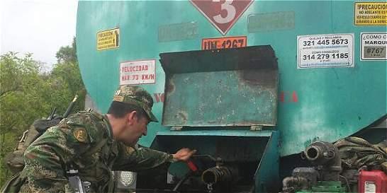 Ejército evitó nuevo derrame de crudo de las Farc en Putumayo
