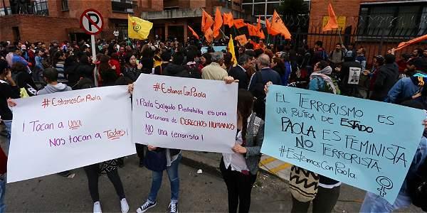 Caso paola salgado dudas en captura por explosiones en for Juzgados de paloquemao