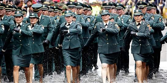 El país aplaudió a sus Fuerzas Armadas