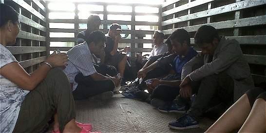 ¿En qué se raja Colombia en la lucha contra el tráfico de personas?