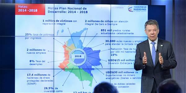 Admiten demanda contra el Plan Nacional de Desarrollo 2014-2018