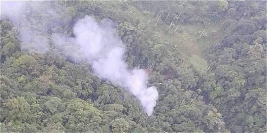 Mindefensa confirma muerte de 16 policías tras caída de helicóptero