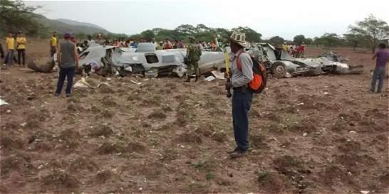 Fuerza Aérea confirma que avión se accidentó en Cesar por mal clima