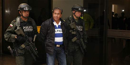 El 'Socio', narco del Tolima, quedó libre tras pagar 3 años en el país