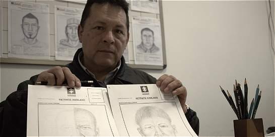 Su trabajo es hacer los retratos hablados de asesinos y violadores