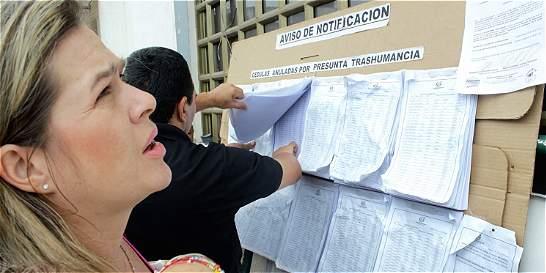 Votantes logran revertir la anulación de cédulas por vía judicial