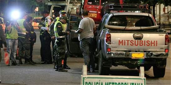 Cayeron 'los R-4', la banda que extorsionaba a conductores borrachos