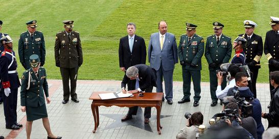 Santos a Fuerzas Armadas: No estarán en inferioridad de condiciones