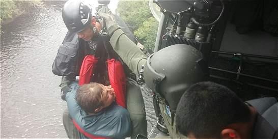 Encuentran a dos polacos extraviados en la sierra de Chiribiquete