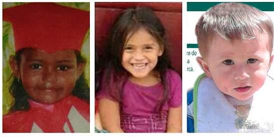 En Venezuela y Ecuador buscan a Dayana, Paula Nicole y Juan Sebastián