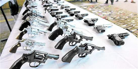 Las cifras que llevaron a mantener la restricción al porte de armas