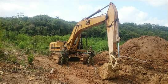 Primer gran golpe contra la minería ilegal en el 2016