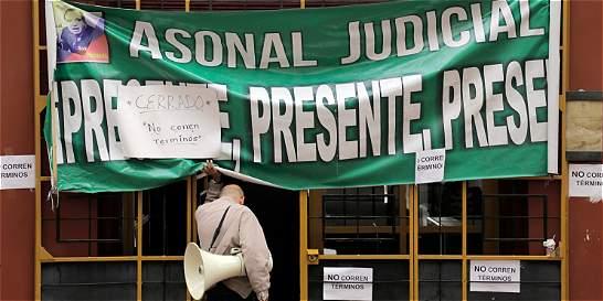 ¿Por qué continúa el paro en juzgados civiles y de familia en Bogotá?