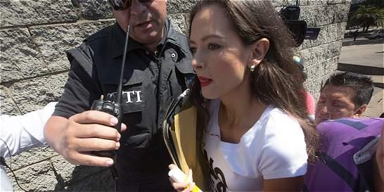 Astrid Helena Cristancho radicó denuncia contra Otálora ante Fiscalía