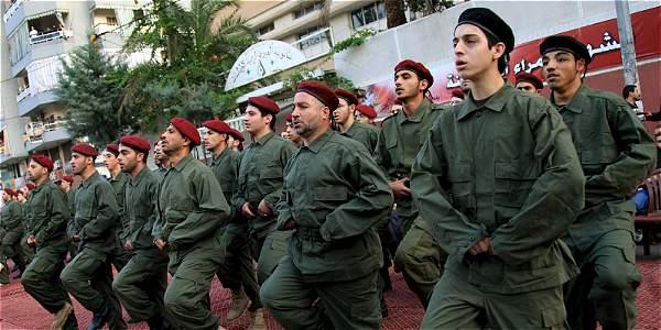 Miembros de Hizbulá.