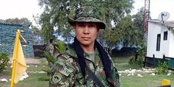 El cabo del Ejército Jair Villar Ortiz fue secuestrado por el Eln.