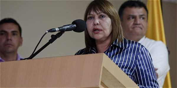 La viceprocuradora Martha Isabel Castañeda.